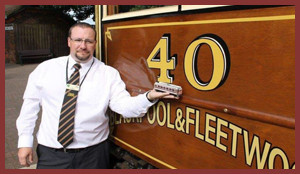 John Whitehouse, Owner of East Lancs Model Tramway Supplies